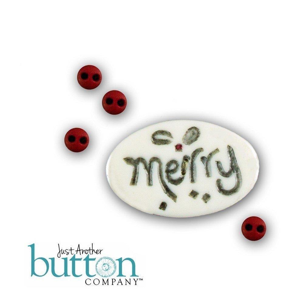 JABC Merry Button #10127