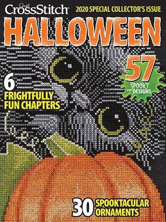 Just Cross Stitch Halloween 2020