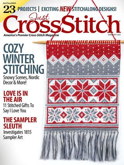 Just Cross Stitch February 2021