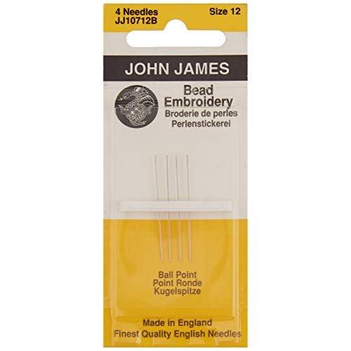 John James Sz 12 Bead Embroidery Needles