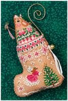 JN Gingerbread Mouse Fairy Stocking