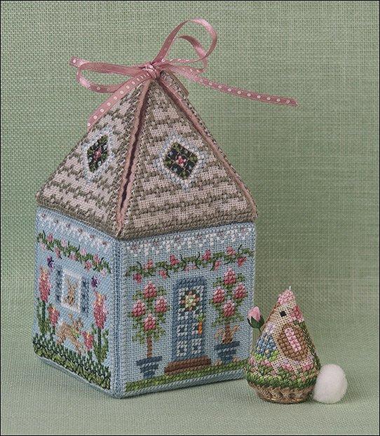 JN Cloverly's Bunny Bungalow w/ Embellishments