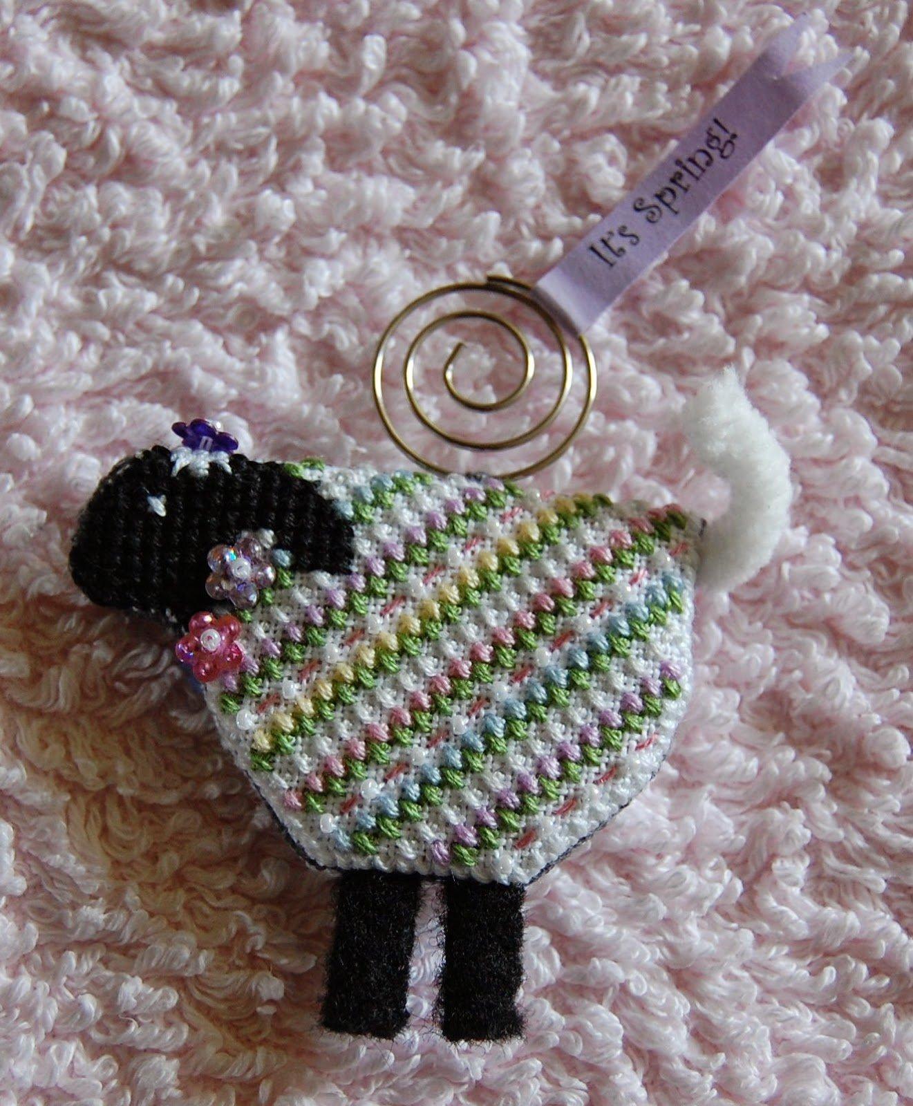JN Lorelei Lamb Ornament