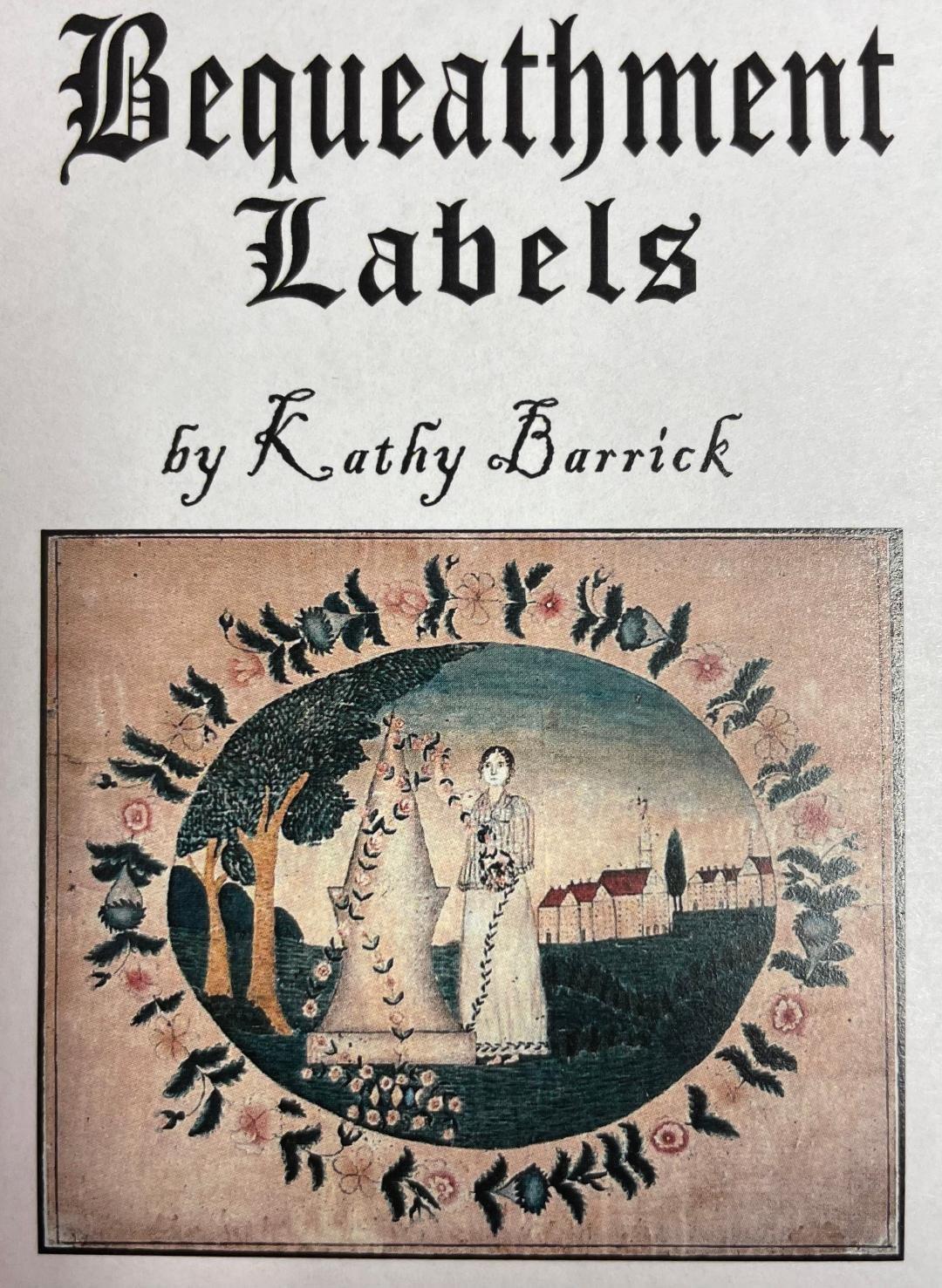 KB Needlework Labels - Bequeathment