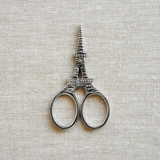 Kelmscott Mon Petite Eiffel Tower Silver Scissors