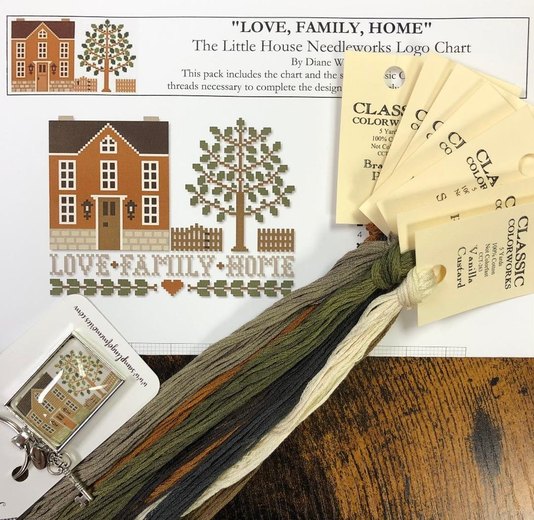LHN Love, Family, Home Kit With Exclusive Thread Keep
