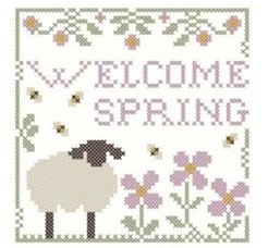 LHN Welcome Spring W/ CC Thread Pack