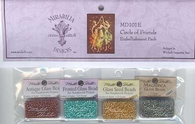 MD 101E Circle Of Friends Embellishment Pack