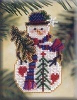Mill Hill Pine Tree Snow Charmer