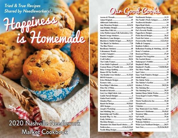 2020 Nashville Needlework Cookbook