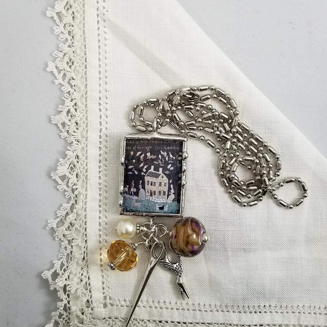 Charm Necklace 2 Sided - Samplers