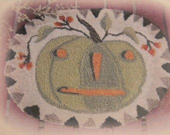 NF Bittersweet Pumpkin Punch Needle