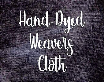 Nightshade Hand-Dyed Weavers Cloth