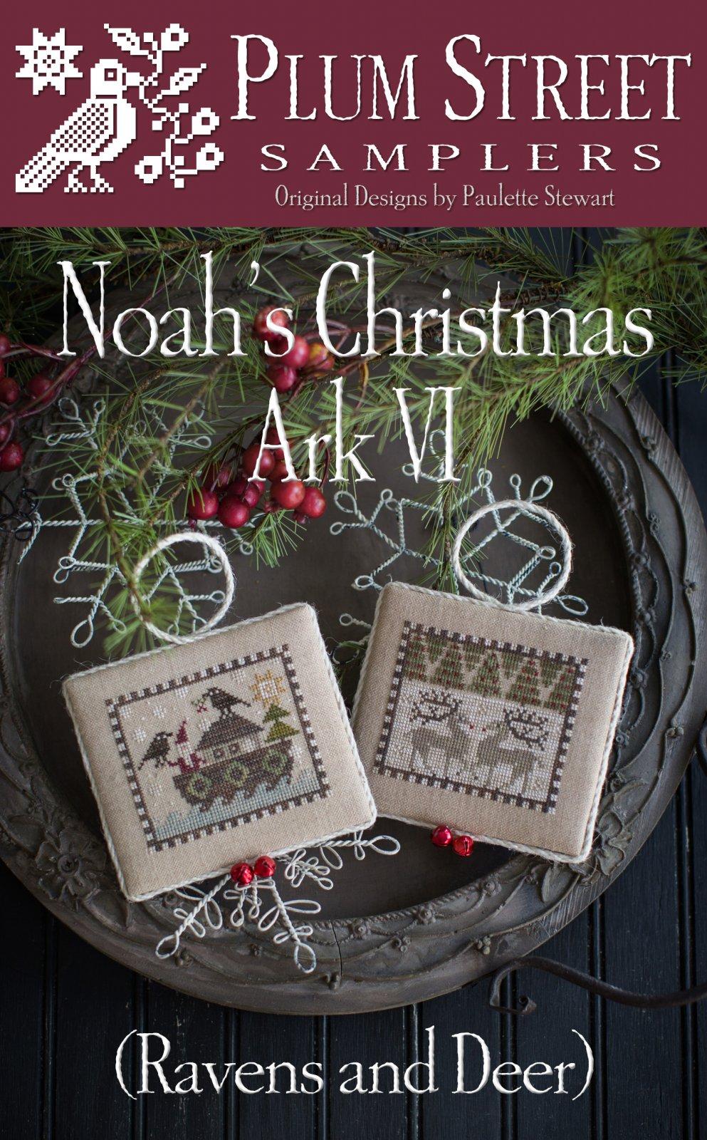 PSS Noah's Christmas Ark VI Ravens and Deer