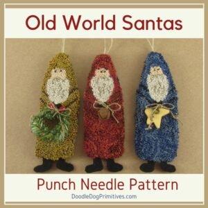 DDD Old World Santas