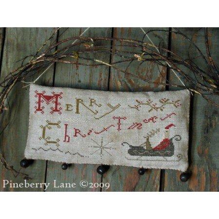 PL Merry Christmas Hanging Sampler