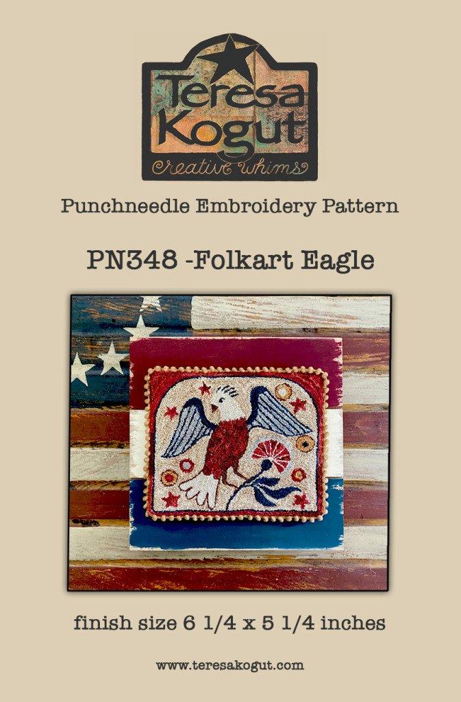 TK Folkart Eagle Punch Needle