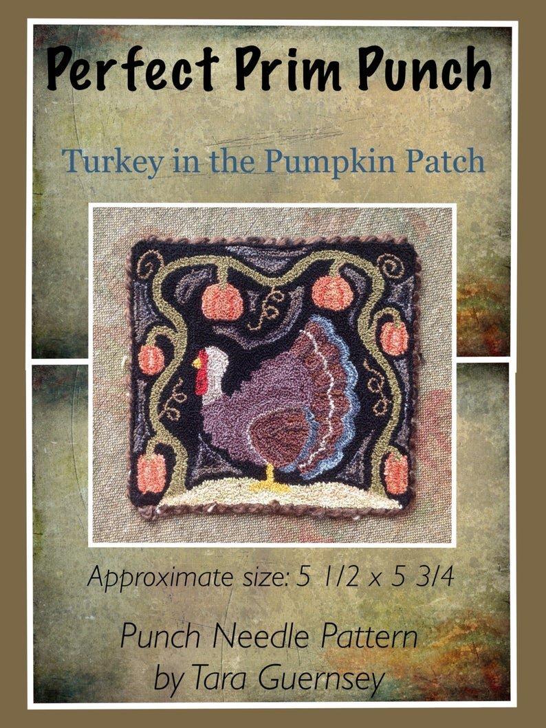 PPP Turkey In The Pumpkin Patch
