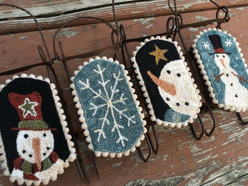 PPP Winter Ornaments