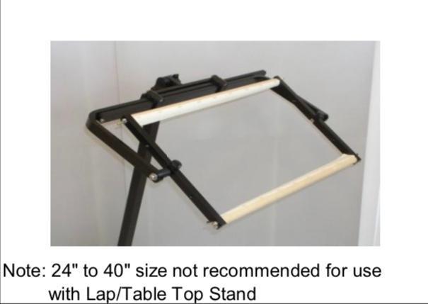 System 4 Scroll Frame Holder 18 - 30