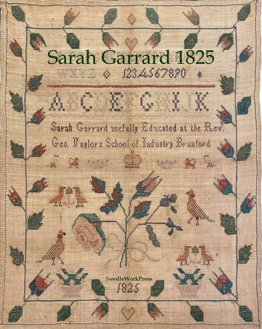 NWP Sarah Garrard 1825