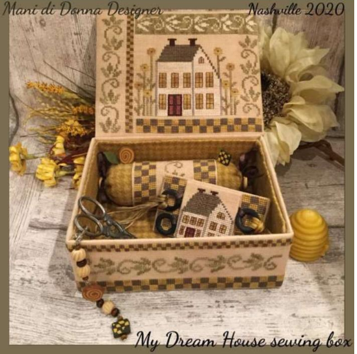 MDD My Dream House Sewing Box