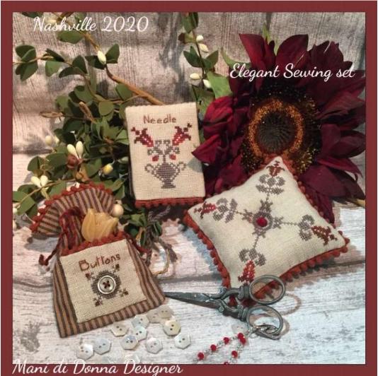 MDD Elegant Sewing Set