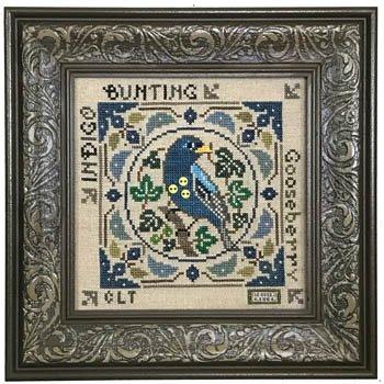 TE Birdie & Berries- Indigo Bunting