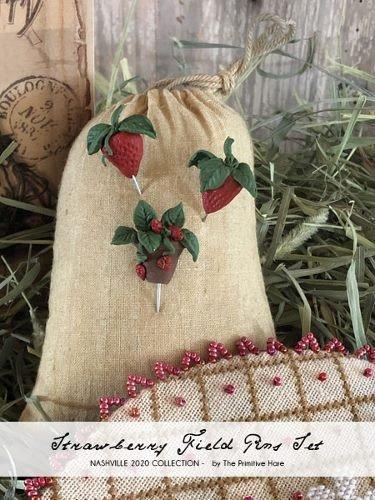TPH Strawberry Fields Pin Set