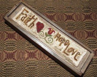 TPT Faith Hope Love PN With Box