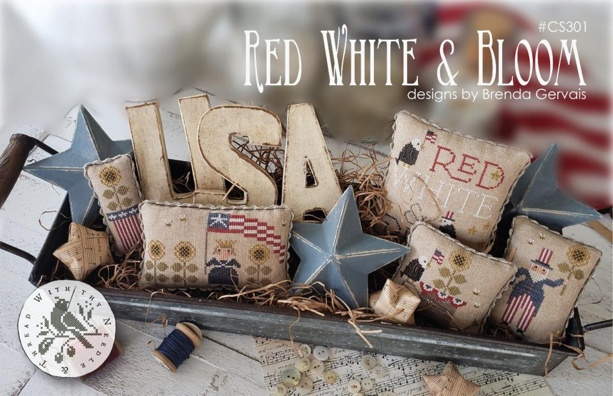 WTNT Red, White, & Bloom