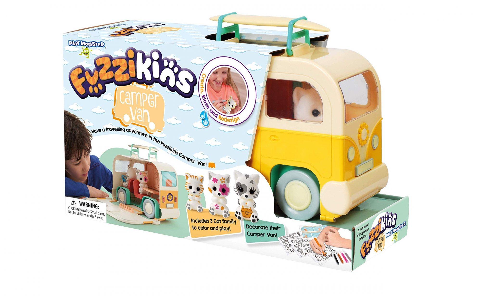 Playmonster Fuzzikins Camper Van