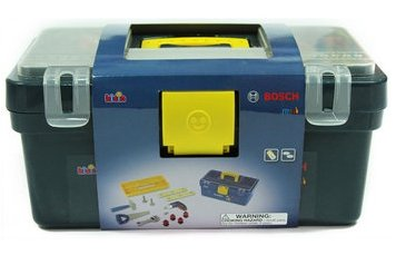 Bosch Toy Tool Box of Toy Tools