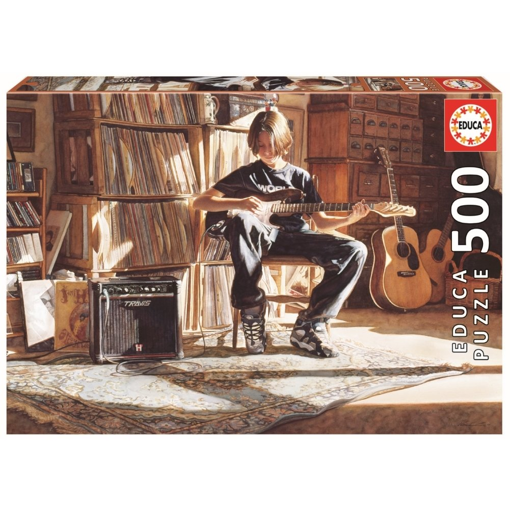 Educa 500pc It's His Time Now Puzzle
