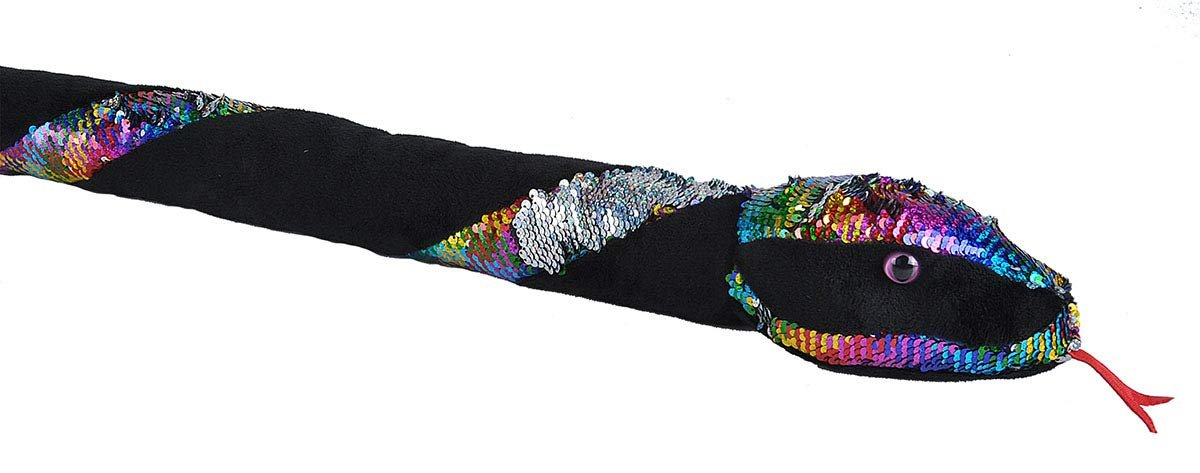 Wild Republic Rainbow Twist Sequin Snake