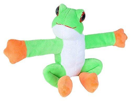 Best Stuffed Animals For Boy, Wild Republic Huggers Green Tree Frog Slap Bracelet 092389214291