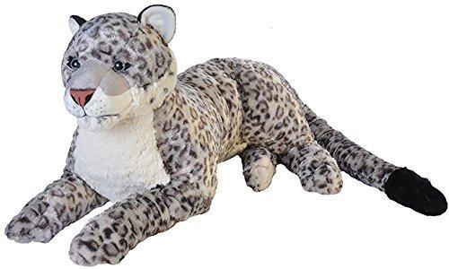 Cuddlekins Jumbo Snow Leopard Plush Toy 30