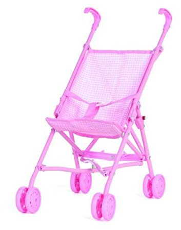 Castle Toy Cute Baby Doll Stroller - Pink