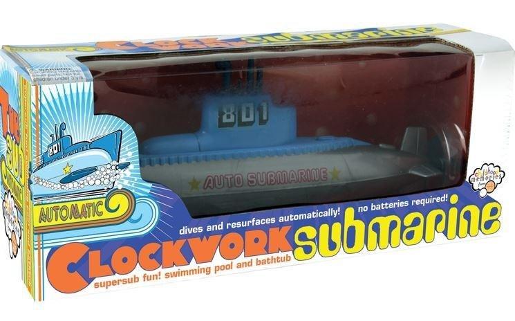 Clockwork Diving Submarine
