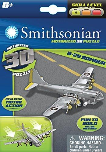 Smithsonian Motorized 3D Puzzle Jets