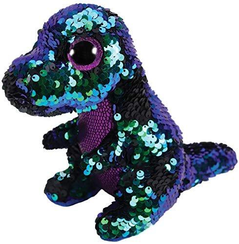 Ty Beanie Boo Flippable Crunch Dinosaur 49604df7a12d