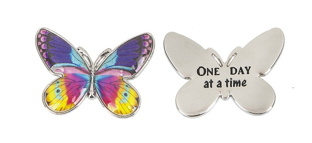 Enjoy the Journey Butterfly Charm