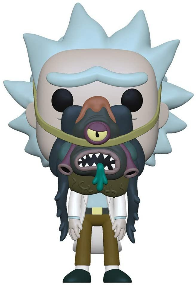 Funko Pop! Rick and Morty Rick w/ Glorzo #956
