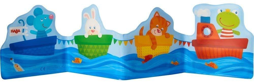 HABA Baby Bath Book Ahoy Animal Sailors!