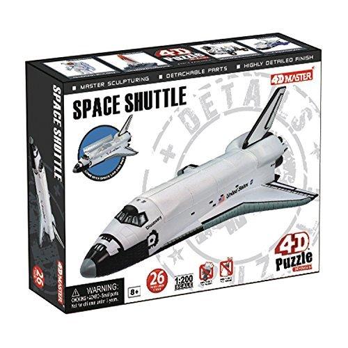 4D Master Space Shuttle Model 8