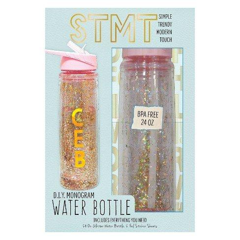 STMT DIY Monogram Water Bottle