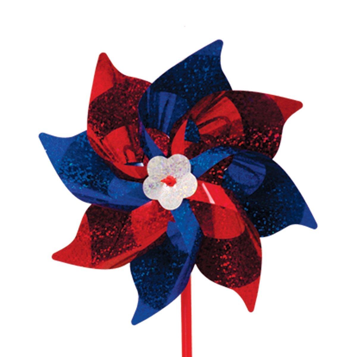 In The Breeze Mylar Patriotic Pinwheel