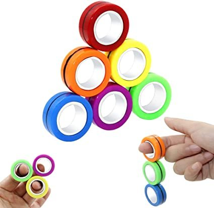Warm & Fuzzy Toys Magnetic Rings