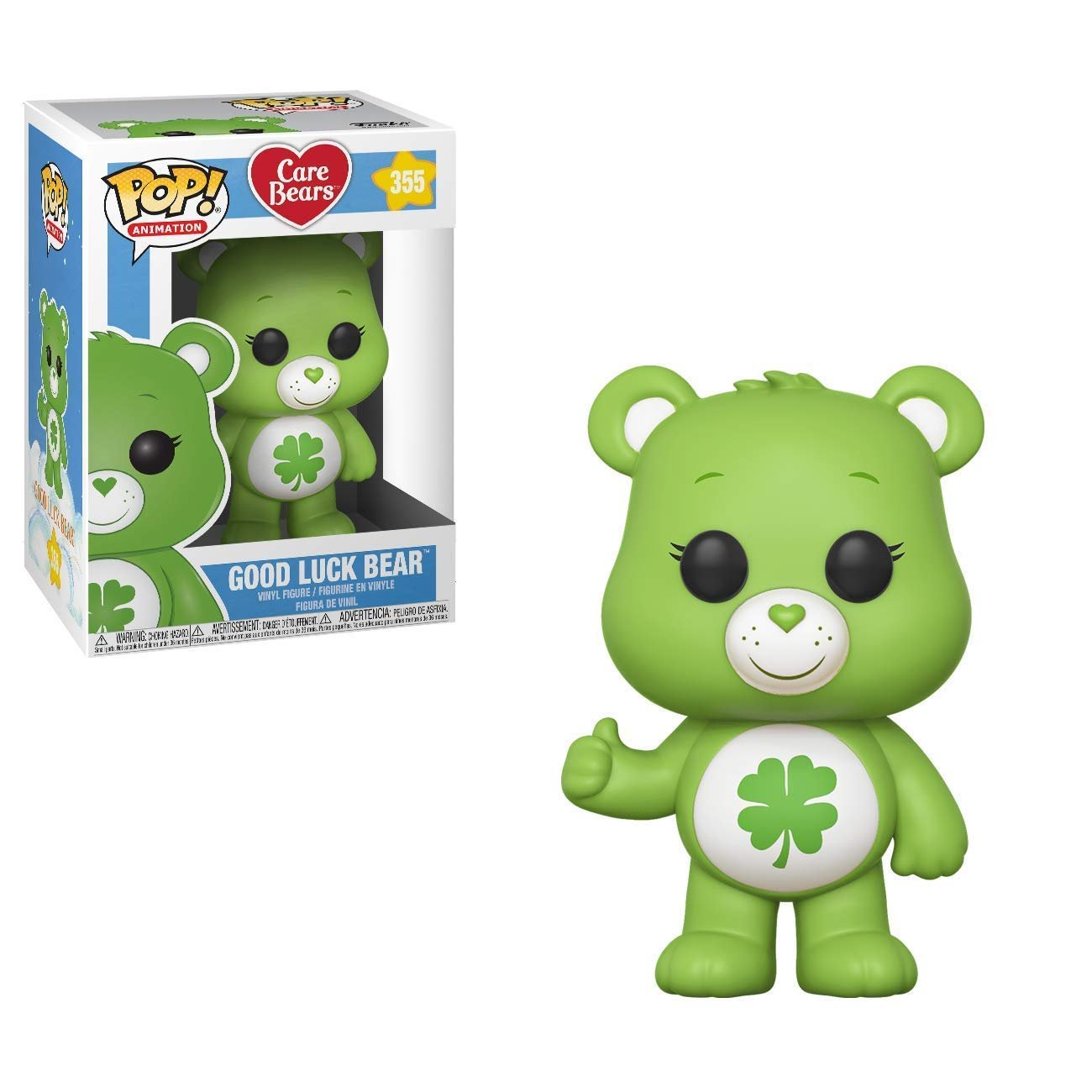 Funko Pop! Care Bears Good Luck Bear #355