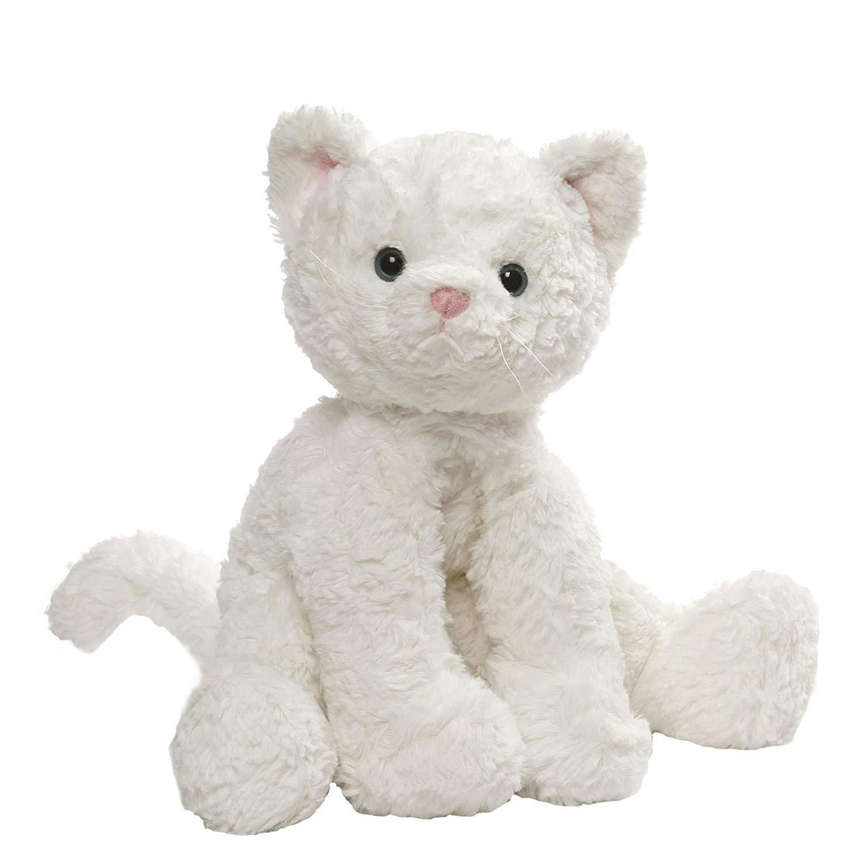 GUND Cozys Collection Cat Stuffed Animal Plush White